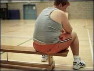 Menino obeso