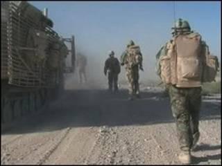 Lính Anh tại Afghanistan