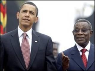 Obama em Gana