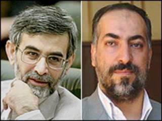 غلامحسین الهام و ابراهیم عزیزی