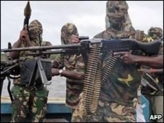 متمردون نيجيريون (أرشيف)
