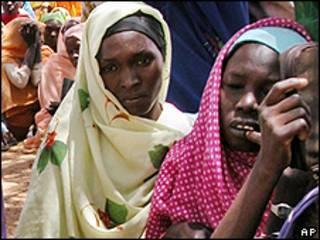 Mujeres en Sudán