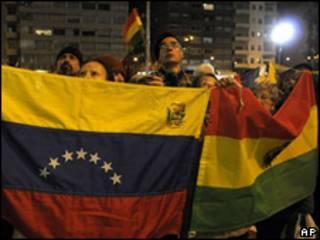 Visita Evo Morales a Uruguay