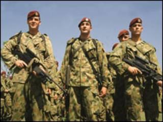 Soldados australianos