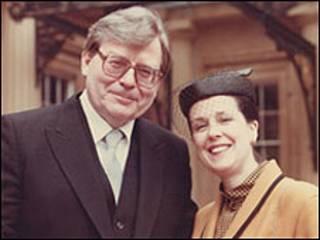 Edward Thomas Downes y su esposa Joan