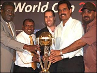 2011 क्रिकेट विश्व कप ट्रॉफ़ी