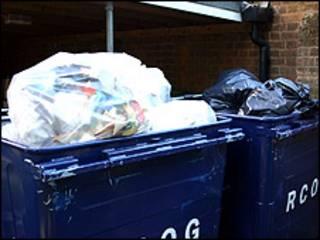 Latas de lixo