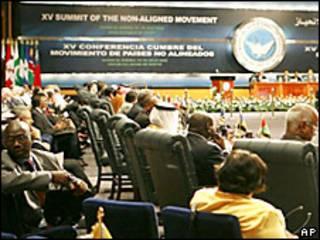 Mandatarios en la inauguración de la cumbre