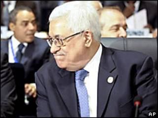 Mahmoud Abbas, presidente de la autoridad palestina.