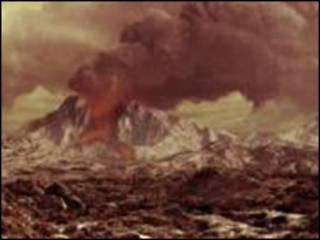 Imagem descreve como teria sido paisagem venusiana
