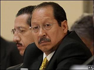 El gobernador de Michoacán, Leonel Godoy