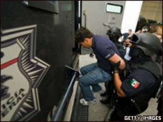 Miembro de La Familia detenido