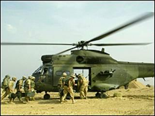 القوات البريطانية تهدف الى توحيد اسطولها من المروحيات على قدر المستطاع