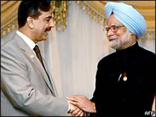 Los primeros ministros de India y Pakistán
