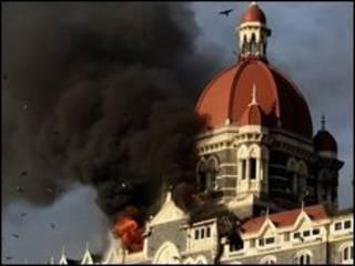 Ataque contra hotel em Mumbai (arquivo)