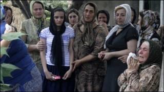 Người dân thương tiếc Natalia Estemirova