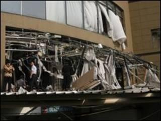 Khách sạn bị đánh bom