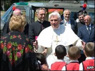 البابا بنيدكتوس السادس عشر