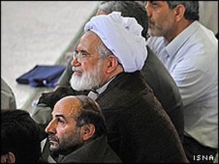 مهدی کروبی در نمازجمعه
