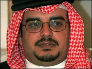 ولي عهد البحرين الشيخ سلمان بن حمد ال خليفة