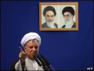 الرئيس الإيراني السابق، هاشمي رفسنجاني