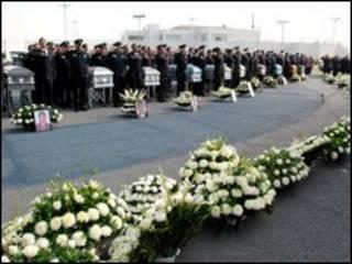 Đám tang các điệp viên liên bang