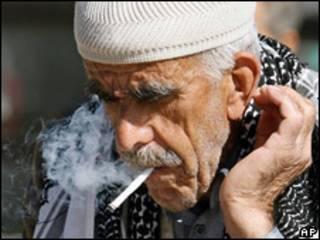 Fumador en Turquía
