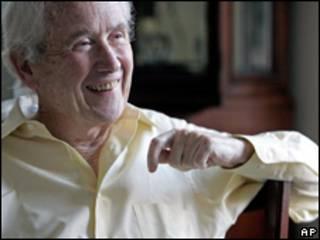"""Frank McCourt, autor de """"Las cenizas de Ángela"""""""