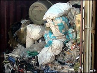 Lixo britânico