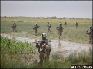 جنود امريكيون بافغانستان