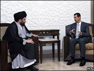 بشار الأسد ومقتدى الصدر