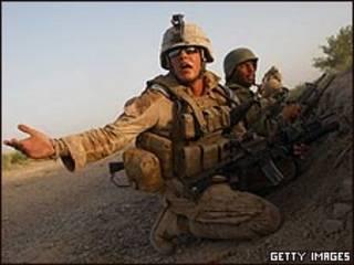 قوات أمريكية وأفغانية في عملية عسكرية