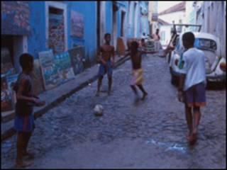 Adolescentes en Salvador de Bahía.