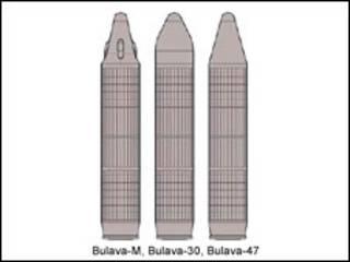 """Ракеты """"Булава"""""""