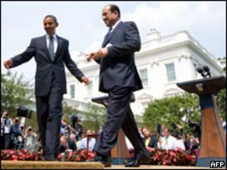 اوباما والمالكي