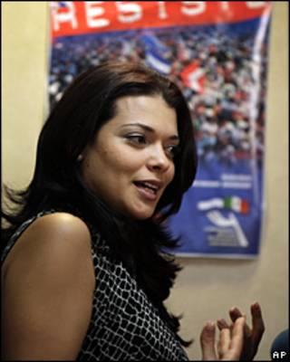 Rosalinda Bueso, embajadora de Honduras en México