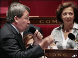Xavier Darcos, ministro de Trabajo de Francia