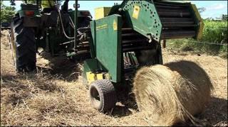 Máquina em fazenda na Amazônia