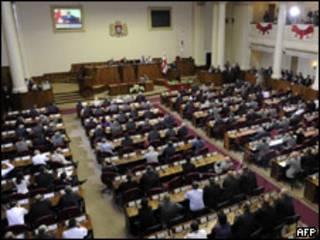 Сессия парламента Грузии