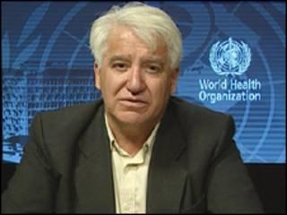 Gregory Hartl, portavoz de la OMS