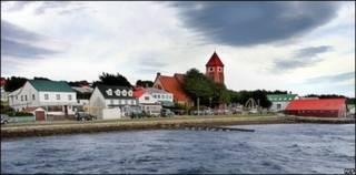 Stanley, capital de las Falklands o Malvinas