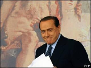 El primer ministro italiano, Silvio Berslusconi