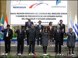 Cumbre del Mercosur en Asunción