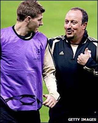 Gerrard và Benitez