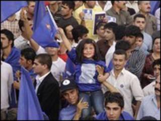 مبارزات انتخاباتی در کردستان عراق