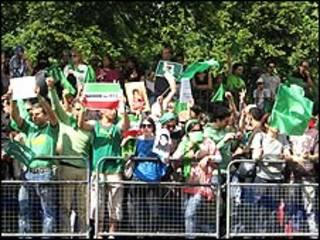 معترضان در لندن