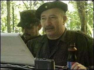 مونو جوجوي قائد متمرد كولومبي