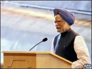 O premiê indiano, Manmohan Singh