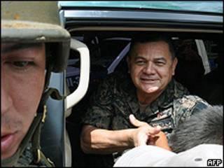 General hondureño Romeo Vásquez