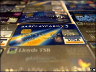 Tarjetas de crédito (foto archivo)